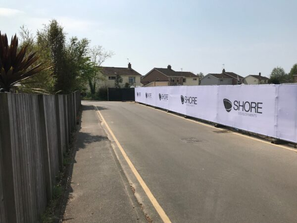 monster graphics Heras Fence Scrims and Crowd Barrier Banners